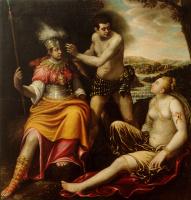 Джованни Бальоне (Баглионе). Геркулес выбирает между Добром и Злом (Геркулес на распутье)