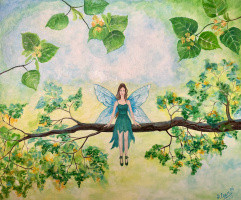 Elena Vasilyeva. Fairy and linden