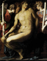 Россо Фьорентино. Мертвый Христос с ангелами