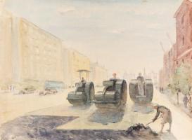 Ольга Константиновна Дейнеко. Утро столицы. 1948