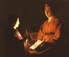 Жорж де Латур. Богородица