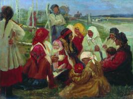 Алексей Степанович Степанов. Беседа крестной матери