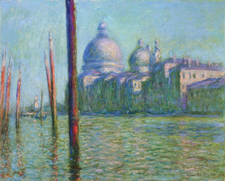 Claude Monet. The Grand canal