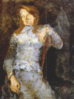 Владимир Евграфович Татлин. Портрет женщины