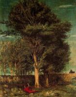 Giorgio de Chirico. Old tree