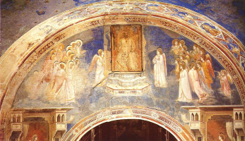 Бог посылает Гавриила к Деве Марии