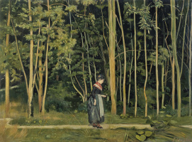 Фердинанд Ходлер. Прогулка в лесу