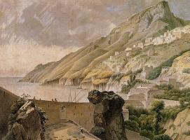 Йозефус Книп. Вид на Вьетри