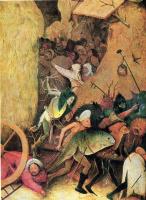 Иероним Босх. Воз сена. Центральная часть триптиха. Фрагмент