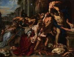 Peter Paul Rubens. Massacre of the innocents