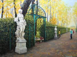 Tatyana Chekkasova. Summer garden