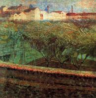 Умберто Боччони. Цветущие сады