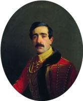 Сергей Константинович Зарянко. Портрет князя Семена Давыдовича Абамелека. 1853