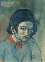 Пабло Пикассо. Портрет молодой женщины