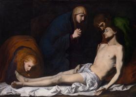 Хосе де Рибера. Плач по мертвому Христу