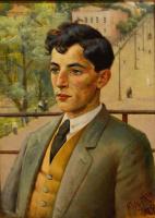 Юдель Пэн. Портрет неизвестного