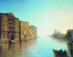 Лев Феликсович Лагорио. Венеция. 1859
