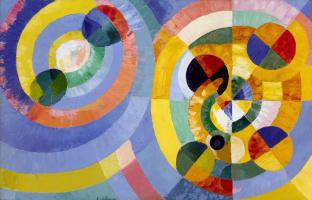 Robert Delaunay. Round shape