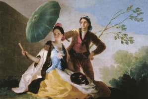 Francisco Goya. Umbrella