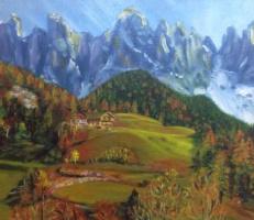 Lyudmila Nikolaevna Yevtushenko. Autumn Alps