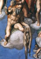Микеланджело Буонарроти. Страшный суд. Святой Варфоломей