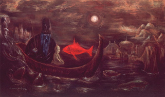 Leonora Carrington. The Fisher king