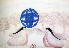 Джакомо Балла. Голубой шар