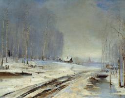 Алексей Кондратьевич Саврасов. Распутица