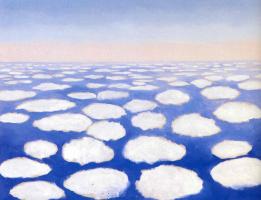Джорджия О'Киф. Небо над облаками