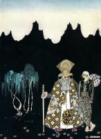 Кей Нильсен. Иллюстрация к  сказке  На восток от солнца, на запад от луны 22