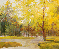 Yuri Mikhailovich Alexandrochkin. In the autumn Park