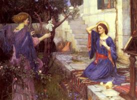 John William Waterhouse. The Annunciation