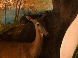 Доссо Досси. Цирцея и ее любимцы в пейзаже, фрагмент