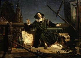 Ян Матейко. Коперник. Беседа с богом