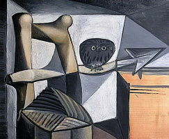 Pablo Picasso. Owl in the interior