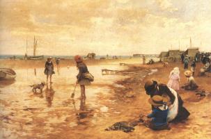 Альфред Гленденинг. На берегу моря