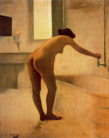 Рамон Касас Карбо. Gaining Nude bathroom