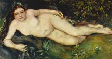 Pierre-Auguste Renoir. Nymph at the source