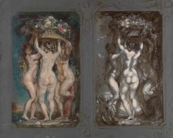Луи Анкетен. Два этюда для Трех граций. Около 1899