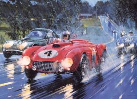 Рой Роб. Дождливые гонки