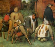 Pieter Bruegel The Elder. Crippled (Poor)