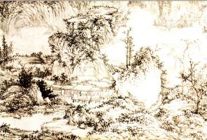 Ван Фу. Пейзаж 003