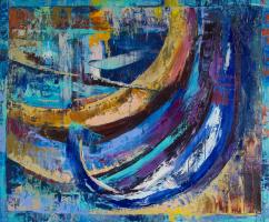 Екатерина Антропова. Синие лодки