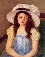 Мэри Кассат. Франсуаз в большой белой шляпе