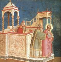 Джотто ди Бондоне. Изгнание Иоакима из храма