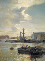 Александр Карлович Беггров. Петербургская Биржа. 1891