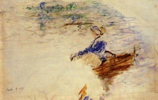 Berthe Morisot. The woman in the boat, Eventi
