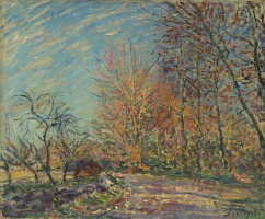 Alfred Sisley. The Outskirts of the Fontainebleau Forest
