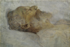 Gustav Klimt. The old man on his deathbed
