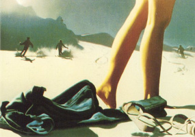 Джим Уоррен. Раздевание на пляже